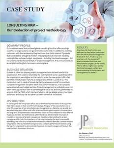 Project Management Consulting Scenario